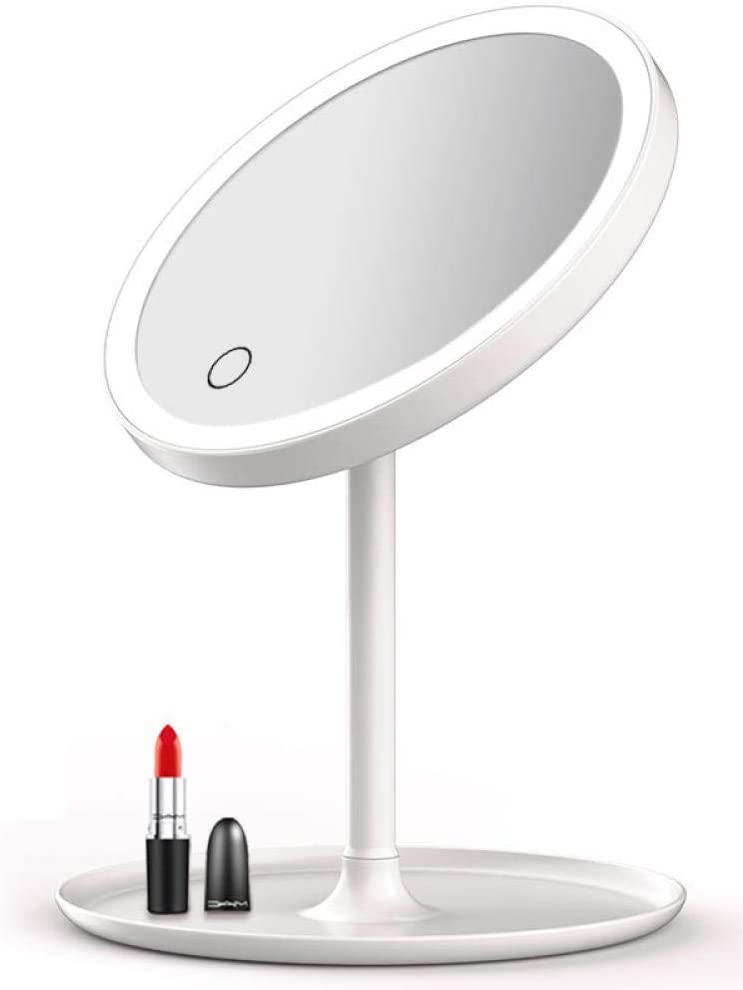 Time sale Vanity Mirror Bathroom Makeup with Led Table Light Mir Special price Up