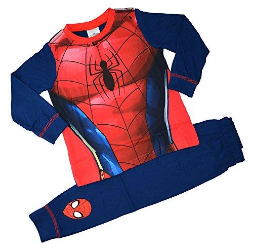 Spiderman Character Classic - Pijama para niños (100% algodón, 2-8 años)