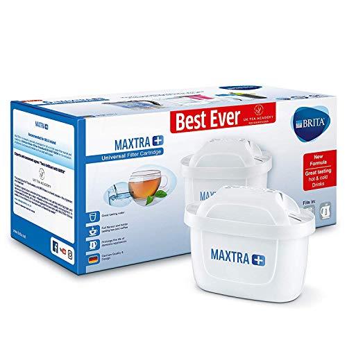 BRITA Maxtra + Cartouches pour Filtre à Eau, Blanc, Plastique, Blanc, Lot de 6