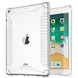 TiMOVO iPad 9.7 2018/2017 Antichoc Coque - Léger Résistant Aux Chocs Souple TPU Transparent Coque...