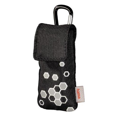 Hama Tasche für web'n'Walk-Stick, Schwarz/Grau