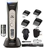 Hair Clipper Hair Trimmer Beard Shaver - Haircut Kit with Titanium & Ceramic