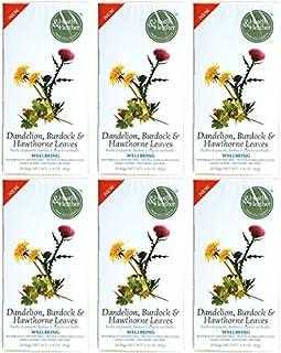 (6 Pack) - Heath and Heather - Dandelion Burdock & Hawthorn | 20 Bag | 6 Pack Bundle