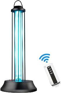 ZQYR# Lampe De St/érilisation UV Aux Ultraviolets M/énage Lampe De D/ésinfection Aux Tue 99,9/% des Acariens Virus D/ésinfectant Portable pour La Maison 38W Lampe Germicide,with Ozone