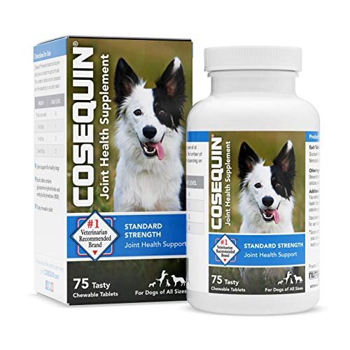 Nutramax Laboratories Cosequin Hip & Joint Support for Dogs - 75 Tabs, Model Number: CQHJ75