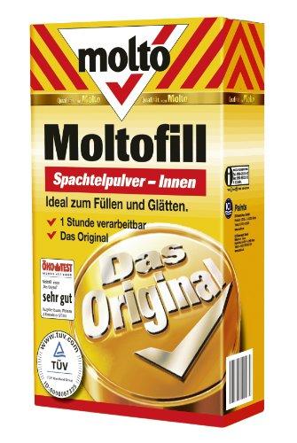 Molto 5087724 Moltofill Spachtelpulver Innen, 2 kg