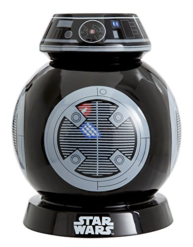 Funko Star Wars: Episode VIII: Sprechende Keksdose: Grizzly Boo, Kunststoff, Schwarz, 14 x 14 x 22 cm