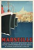 Marseille Major Kunstdruck, Poster, Format 50 x 70 cm,