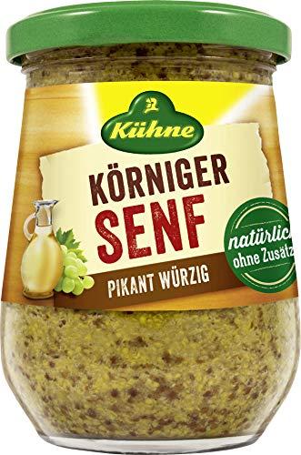 Kühne - Körniger Senf - 250ml