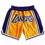 Los Angeles Lakers KOBE JAMES Basketball shorts