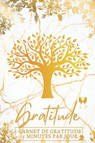 MON JOURNAL DE GRATITUDE ( CARNET DE GRATITUDE 5 MINUTES PAR JOUR ): Bien-être Pensées Positives, Développement Personnel : 120 pages Personnalisées ... pour ... Conscience. (Idée Cadeau)