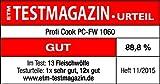 ProfiCook PC-FW 1060 Fleischwolf inkl. Plätzchenaufsatz, Wurstfülleraufsatz, Kebbeaufsatz, Vor-und Rücklauffunktion, Edelstahlgehäuse, 1000 Watt - 9