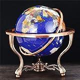 Gemstone Floor Globes