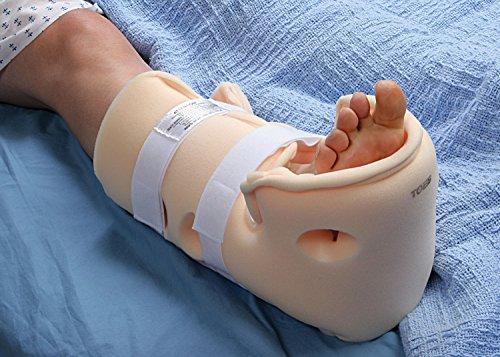 Heelift Fersenfreilagerung, Fersenpolster, Fersenschutz, medizinischer Schuh, maschinenwaschbar, Größe S, 1 Stück