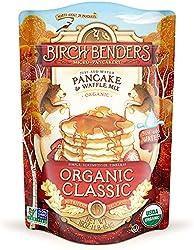 Organic Pancake and Waffle Mix, Classic Recipe by Birch Benders, Whole Grain, Non-GMO, Just Add Wate