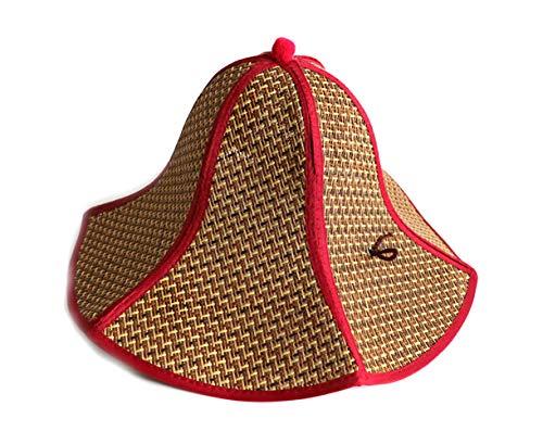 Chinese Cap Floppy Straw Hat Large Brim Sun Hat Women Summer Beach Cap Big Foldable Fedora Hats