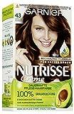 Garnier Nutrisse Creme Coloration Gold-Braun 43 / Färbung für Haare für permanente Haarfarbe (mit...