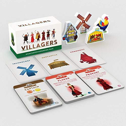 Sinister Fish Games Villagers Expansion Pack Game product image