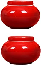 Funeral Urn Adult Ashes Cremation Urns for A Small Amount Human Ashes Burial Urns at Home Ceramics Moisture Proof Handcraf...