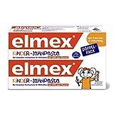 elmex Kinder-Zahnpasta, 2-6 Jahre, Doppelpack,...