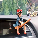 Car Decoration Pendant Cute Anime Magical Girl Flying Pendant Car Rearview Mirror Pendant Car Interior Decoration Accessories