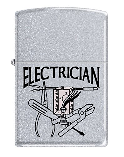 Zippo Personalized Message Engraved Customized Gift for Him for Her Electrician Indoor Outdoor Windproof Lighter