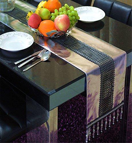 Sucastle® 1XPlacemat-26X36cm tissu Chemin de Table Cuisine Imperméable Décoration en Aspect naturel