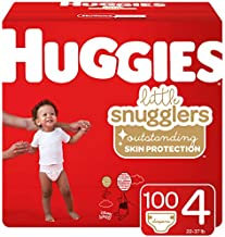 Huggies Little Snugglers Baby Diapers, Size Newborn, 128 Count