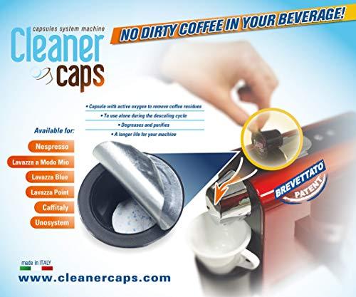 Kit di pulizia per macchine Nespresso gruppo erogatore e decalcificante