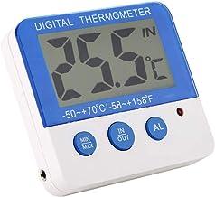 ECSWP YAJJA Sala de termómetro Digital higrómetro Interior Termómetro Termómetro habitación y de Humedad atmosférica