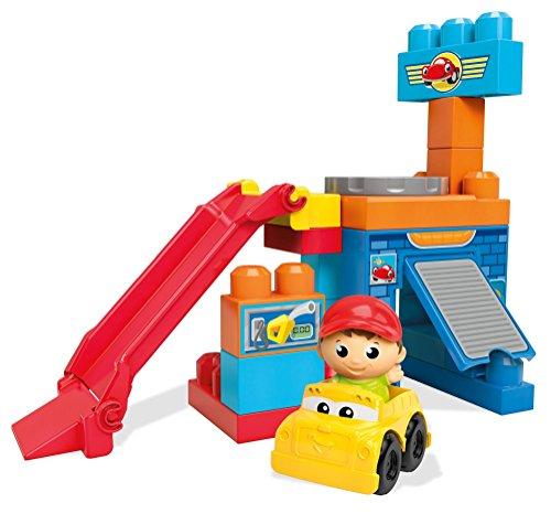 Mega Bloks First Builders Spin N Go Garage Bauset