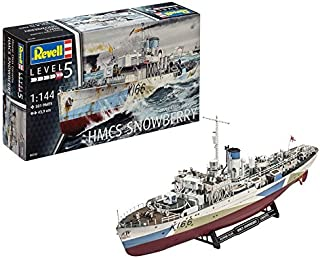 Revell- Maqueta de Flower Class Corvette, Kit Modello, Escala 1:144 (5132) (05132)