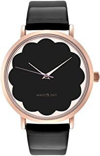 Olivia - 3 Options - Womens Scallop Rose Gold Watch