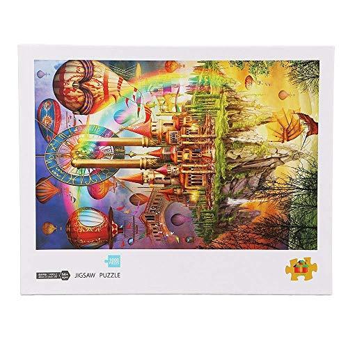AJH Blokken 1000 Stuks Houten Puzzel Speelgoed Voor Volwassenen Kinderen Kinderen Spelletjes Educatief Speelgoed Veelkleurige Optionele Bouwstenen Set