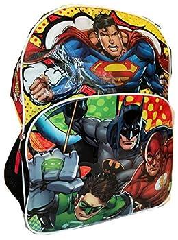 Justice League 16  Backpack Large Batman Superman Green Lantern