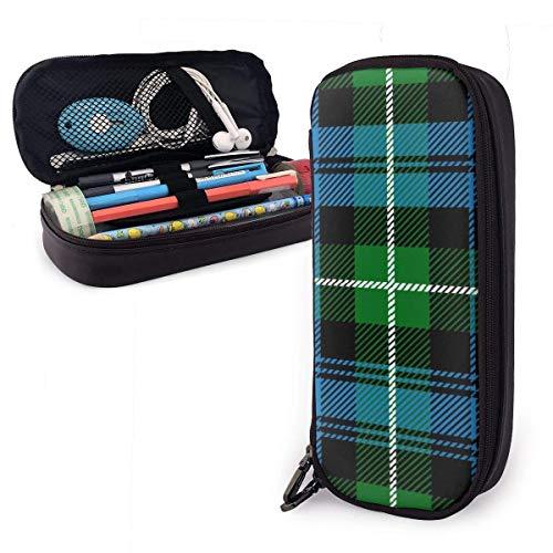 Bolsa de Lápiz,Estuche de lápices de Gran Capacidad Estuche Escolar de Gran Capacidad Clan Lamont Tartan