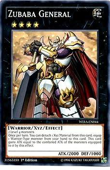 Yu-Gi-Oh! - Zubaba General - WIRA-EN044 - Common - 1st Edition  WIRA-EN044  - Wing Raiders - 1st Edition - Common