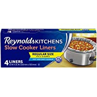 4-Count Reynolds Kitchens Slow Cooker Liners