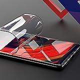 ONICOGEAR Protector Pantalla Compatible con Xiaomi Mi Mix 2 (no es vidrio templado),silicona curvado completo protector de gel para Xiaomi Mi Mix 2(2 Unidades)