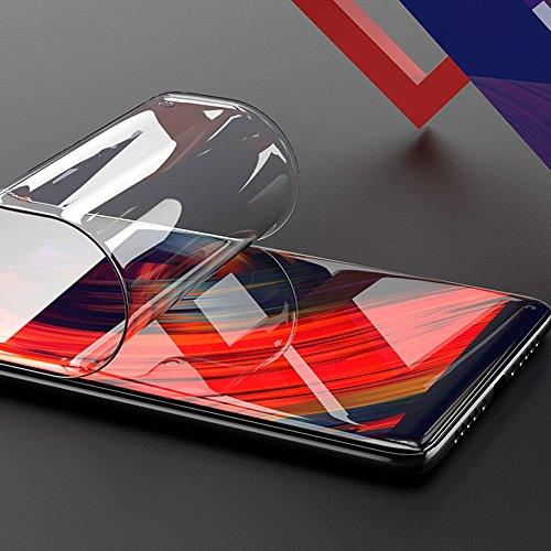 ONICO Bildschirm Schutzfolie für Xiaomi Mi Mix 2,TPU Selbstheilend Anti-Bläschen 3D-Gebogenen Volle Bedeckung Folie kompatibel mit Xiaomi Mi Mix 2 [2 Stück]