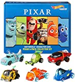 Hot Wheels Disney Pixar Bundle Vehicles, 6 Pack [Amazon Exclusive]