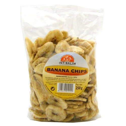 IJSALUT - Banana Chips Deshidratada Int-Salim 250 G