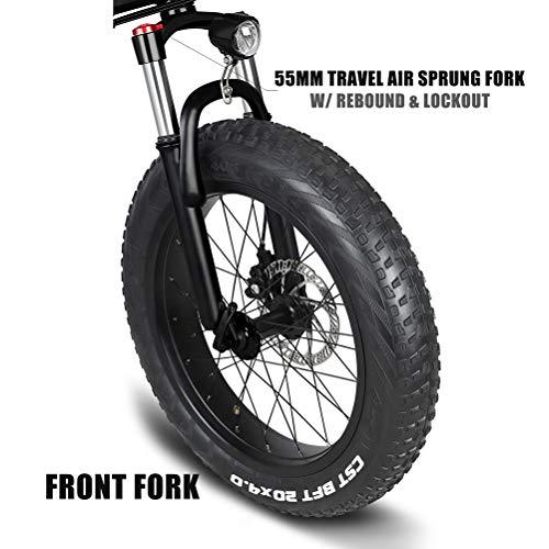 Ibesecc Vélo électrique Pliant, Vélo électrique de Ville de 12 po pour Adulte 7 Vitesses Mode dérailleur 3 Affichage LCD Moteur Puissant de 350 W Roues 20 4 Pouces Gros pneus