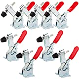 8PCS Toggle Clamp 201B Hold Down Clamp 220 lbs / 100 kg Holding Capacity, STARVAST Heavy D...