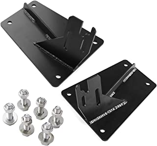 NIXFACE Bumper Conversion Brackets To Bolt On The 4th Gen Bumper For Dodge 2nd Gen With hardware