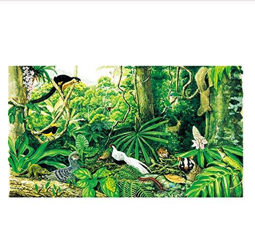 YKCKSD Die Montane Regenwald Puzzle 1000 Teile Exquisite Handgemalte Puzzles Ökosystem Puzzle Spielzeug Geschenk