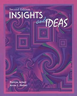 Insights and Ideas, Second Edition