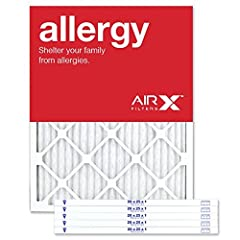 "MERV 11 furnace filter premium pleated filter, actual size 19.5"" x 24.5"" x .75"" Made in USA Compare to 3m Filtrete micro particle MPR800 and Filtrete allergen MPR1200 filters Traps mold, pet dander, smoke particles, pollen and dust mite debris for al..."