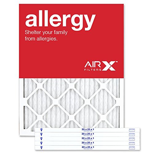 AIRx ALLERGY 20x25x1 MERV 11 Pleated Air Filter -...