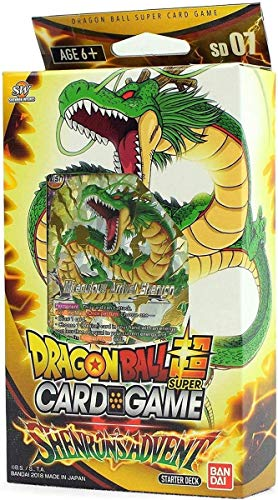 Dragonball Super Card Game - Starter Deck Display 7 Shenron's Advent (6 Decks) - EN